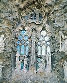 10320694, Barcelona, detail, window, Sagrada Familia, Spain, Europe,