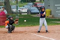 Softball little league action
