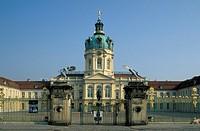 schloss charlottenburg castle, berlin, germany