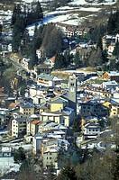 village view, ponte di legno, italy