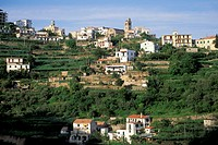 village view, ravello, italy