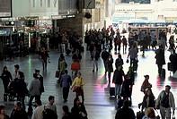 termini railvay station, rome, italy