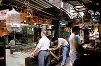 asia, hong kong, kowloon, hong lok street, birds market