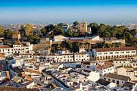 Mijas seen from Calvary chapel. Málaga province, Costa del Sol. Andalusia, Spain