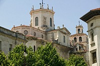 Cathedral. Santander. Cantabria. Spain.