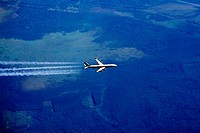 Airbus A340 inflight
