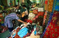 Women at batik clothing store, Kuala Lumpur, Malaysia