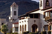 Scotty´s Castle, 1924 Luxury Home of ´Death Valley Scotty´. Gold Prospector. Death Valley National Park. California. USA.