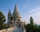 Fishermen´s Bastion, Buda, Budapest, Hungary