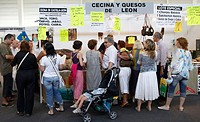 Food stand. Ficoba, Basque Coast International Fair. Irun, Gipuzkoa, Basque Country, Spain