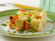 Cauliflower bake with eggs