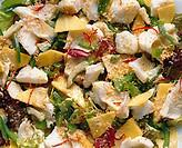 Exotic Fish Salad with Mango