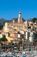 Menton. French Riviera. France