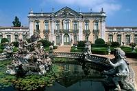 National Palace of Queluz (1747-1794) near Lisbon. Portugal