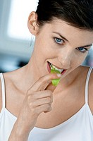 Woman and dietetic