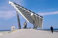 Photovoltaic pergola (3700 m2), Forum 2004. Barcelona, Spain