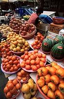 Korea, Seoul, Namdaemun Market, Fruit Store