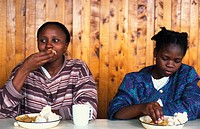 AFRICA, FOOD<BR>Photo essay for press only.<BR>Single mothers at the Jammaa Home, Nairobi, Kenya.