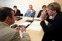 AN OFFICE MEETING<BR>Worldwide distribution except for United Kingdom and Germany.