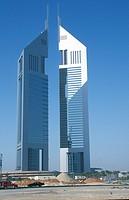 DUBAI<BR>Twin Towers. United Arab Emirates.