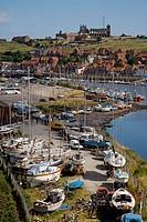 Esk Estuary Whitby North East Yorkshire UK July