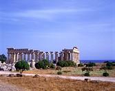 Greek ruins, Selinunte, Sicily, Italy.