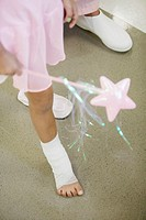 Little Ballerina with Taped Ankle