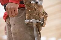 Construction Worker´s Tool Belt