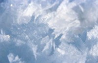 Snowflakes, close-up
