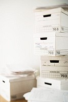 Boxes of Paperwork