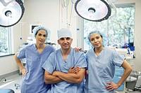 Three Surgeons in Operating Room