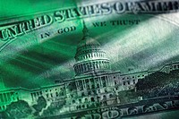US Capitol Building on $50 Bill