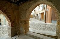 Arches. Molinos. Teruel province. Aragón. Spain.
