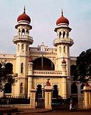 Bank of Mysore, typical architecture. Mysore. Karnataka. India.