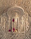 Relief Carvings in Jain Temple