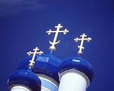 Crosses Atop Domes