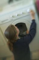 Girl Doing Laundry