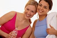 Friends After a Workout