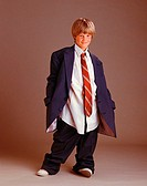 Boy in Man´s Clothing