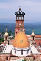 Dome of Puerto Vallarta Church