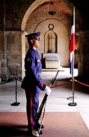 Dominican Republic, Santo Domingo, national pantheon, national guard