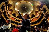 France, Paris (75), visit of the Comic Opera wings