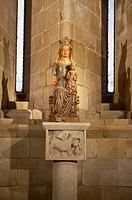 San Pedro romanesque chapel. Cathedral, Santo Domingo de la Calzada, La Rioja. Spain.