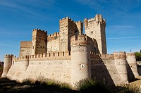 La Mota Castle (15th century), Medina del Campo. Valladolid province, Castilla-León, Spain