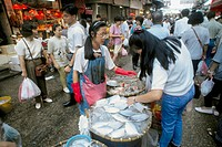 China, Hong Kong, Mong Kok, market, people