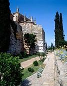 Church of San Magín. Minerva Tower. Tarragona. Spain.