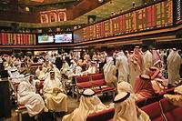 Stock Exchange at Kuwait City. Kuwait.
