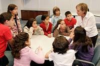 Student, teacher, entrepreneur, business, marketing. KidVentures. Royal Caribbean Headquarters. Miami. Florida. USA.