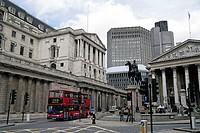 Great Britain, England, London, bank of England, royal Exchange,