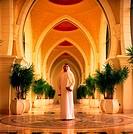 Arab businessman with filofax